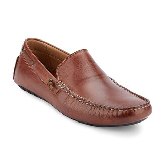 G.H. Bass & Co. Mens Walter Leather Casual Driver Loafer Shoe