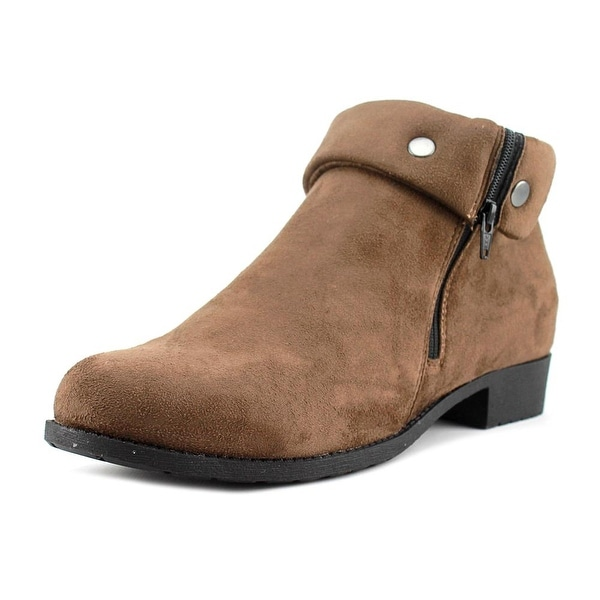 Propet Sidney Women Round Toe Canvas Ankle Boot