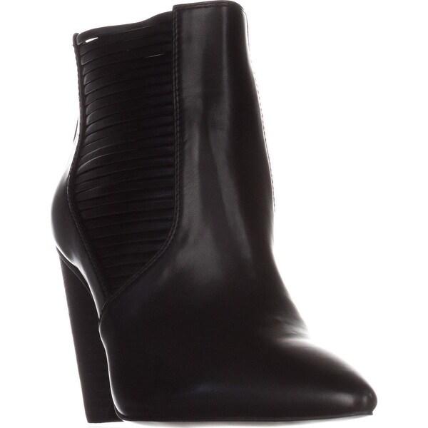 BCBGeneration Alexis Strappy Ankle Boots, Black - 7.5 us / 37.5 eu