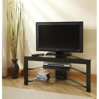 Classic Glass Wood and Glass TV Stand - TV-01A