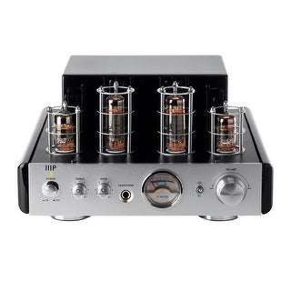 Monoprice25 Watt Stereo Hybrid Tube Amplifier with Bluetooth
