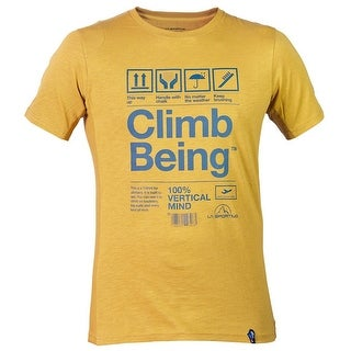 e42878781b9 Shop La Sportiva Men's Climb Being T-Shirt - M - On Sale - Free Shipping On  Orders Over $45 - Overstock - 25602887