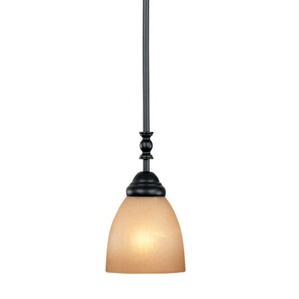 Designers Fountain 94030 Single Light Down Lighting Mini Pendant from the Apollo Collection