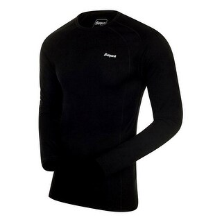 Bergans Shirt Mens Long Sleeve Base Layer Fjellrapp Lightweight 1964