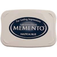 Memento Dye Ink Pad-Nautical Blue