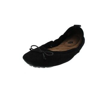 Acorn Womens Ballet Flats Round Toe Bow