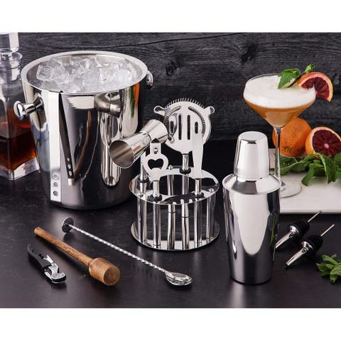 Barware Tool Set Bartender Kit Bar and Home Drink Making Tools