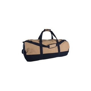 Stansport 1240 two tone canvas duffle bag