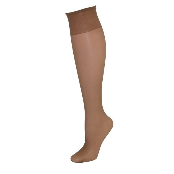 Hanes Just My Size Sheer Toe Knee High Hose (4 Pair Pack)