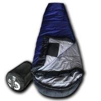 Wolftraders KidMummy +0 Degree Fahrenheit Premium Ripstop Youth Mummy Sleeping Bag with Xfil