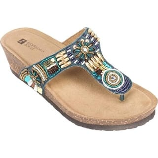 6fca90d22a7c2f Quick View. Was  54.95.  16.49 OFF. Sale  38.46. White Mountain Women s  Brilliant Beaded Thong Sandal ...