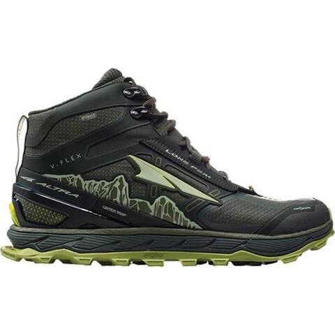 Altra Footwear Men's Lone Peak 4.0 Mid RSM Trail Running Shoe Deep Forest