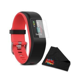 Garmin Vivosport Activity Tracker S/M - Fuchsia Pro Bundle