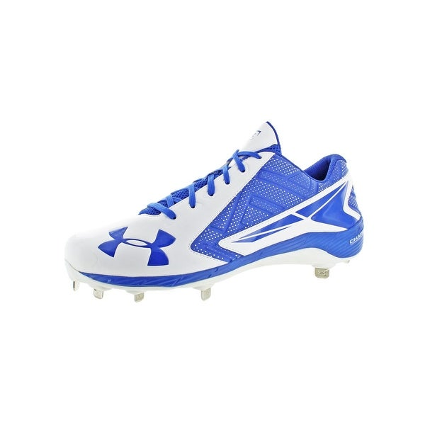 Under Armour Mens Yard Low ST Cleats Athletic Baseball - 14 medium (d)