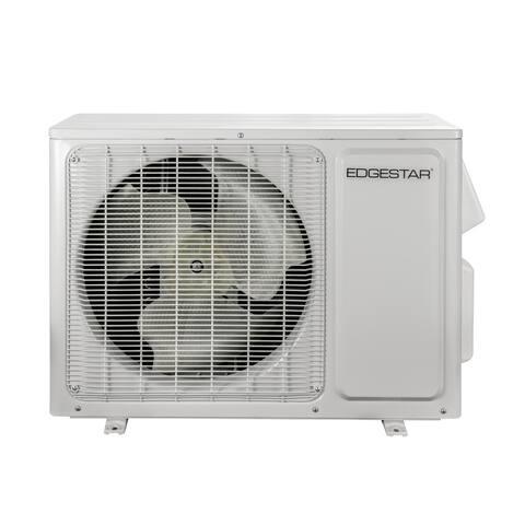 EdgeStar MSCON12000 12000 BTU Cooling/13000 BTU Heating 208/230 Volt Single Zone Mini Split Condenser - White