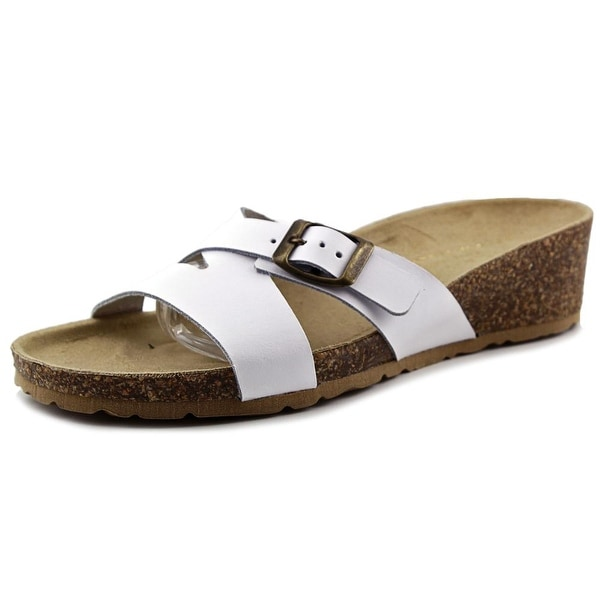 Easy Street Sandalo Women Open Toe Leather Slides Sandal