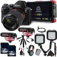 Sony Alpha a7 II Mirrorless Digital Camera International Version  with FE 28-70mm f/3.5-5.6 OSS Lens Essential Vlogging Kit