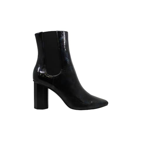 Donald J Pliner Women's Shoes Laila2-26 Leather Pointed Toe Ankle Fashion Boots