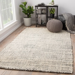 Link to Juniper Home Alcott White/Aqua Natural Jute Area Rug Similar Items in Casual Rugs
