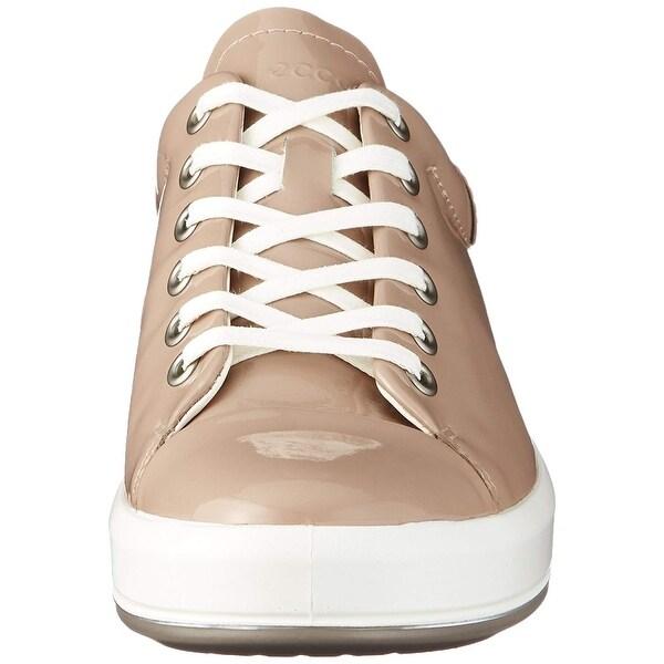 7079c1bdc44 Shop ECCO Women s Soft 9 Tie Fashion Sneaker - On Sale - Ships To ...