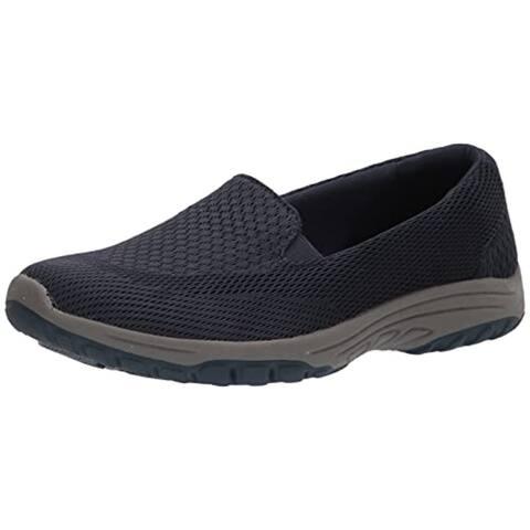 Skechers Women's Sporty Loafer Flat, Navy