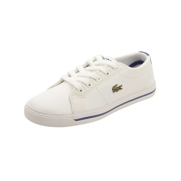 737c8e491fa345 Shop Lacoste Toddler Marcel 316 Sneakers in White - Free Shipping ...