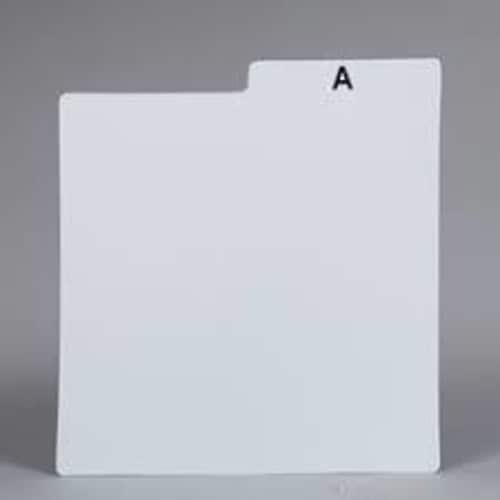 Bags Unlimited Dlpp40a LP Dividers Cards-25Pk Whit