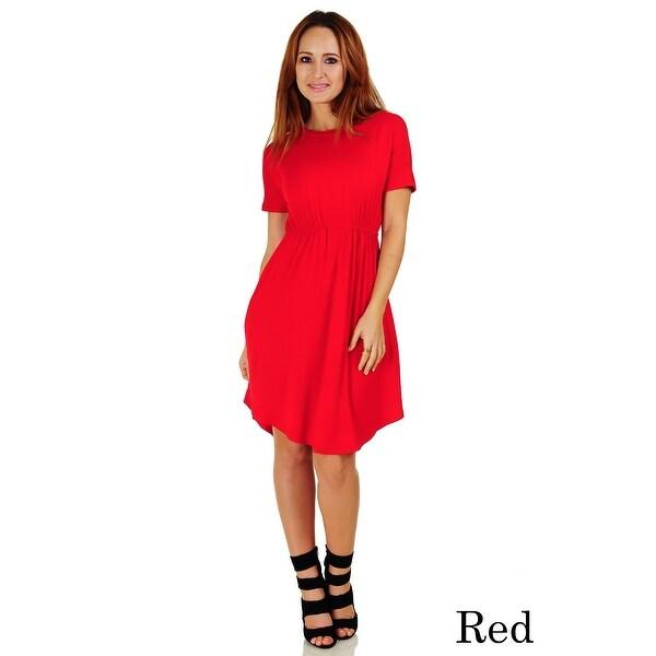 Simply Ravishing Women's Short Sleeve