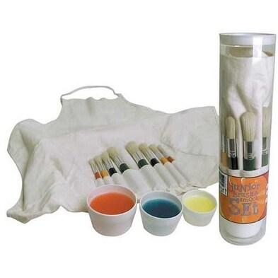 Art Alternatives - Junior Brush & Smock Set