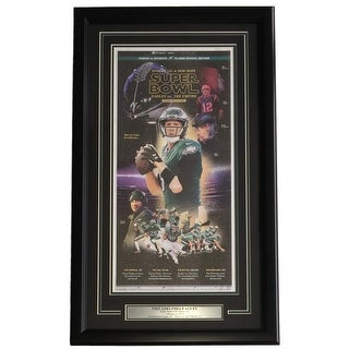 Nick Foles Eagles Framed Feb 2 2018 Star Wars Episode 52 LII Inquirer Cover