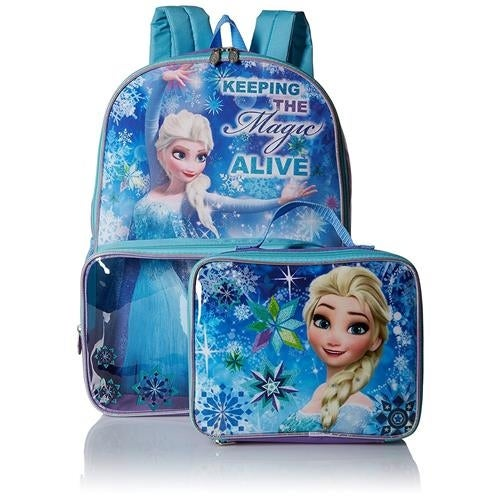 045d4159b05 Shop Disney Girls Frozen Backpack Lunch Bag Box - Free Shipping On Orders  Over  45 - Overstock - 18616467