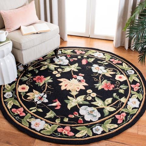 SAFAVIEH Hand-hooked Chelsea Rubi Country Oriental Wool Rug