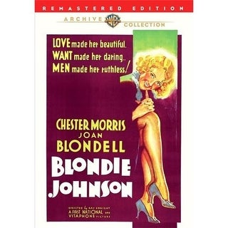 Blondie Johnson DVD Movie 1933