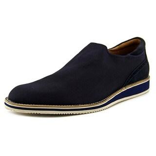 Donald J Pliner Eton Men Round Toe Canvas Blue Loafer