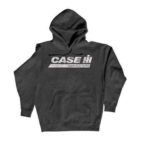 Case IH Ag Distressed Stripe - Men's Pullover Hoodie