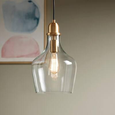 Abalone Glass Pendant Light by Hampton Hill