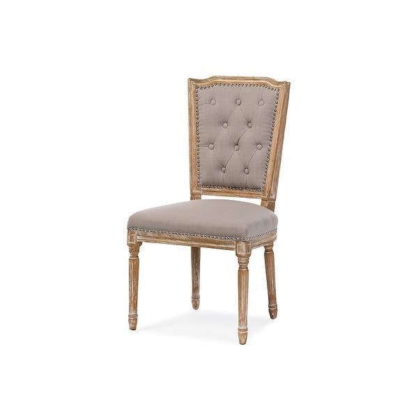 Estelle Chic Rustic French Country Cottage Dining Chair