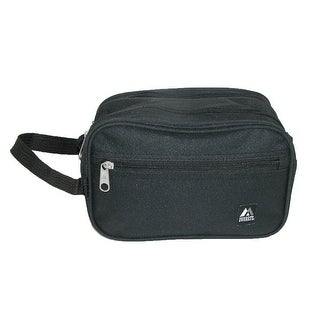 Everest Dual Compartment Travel Toiletry Bag with Handle