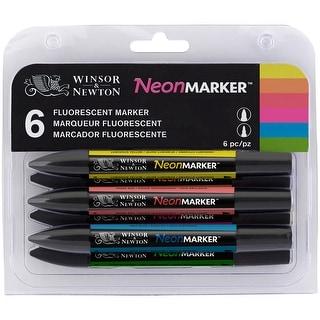 Winsor Newton Promarker Sets 6/Pkg-Neon
