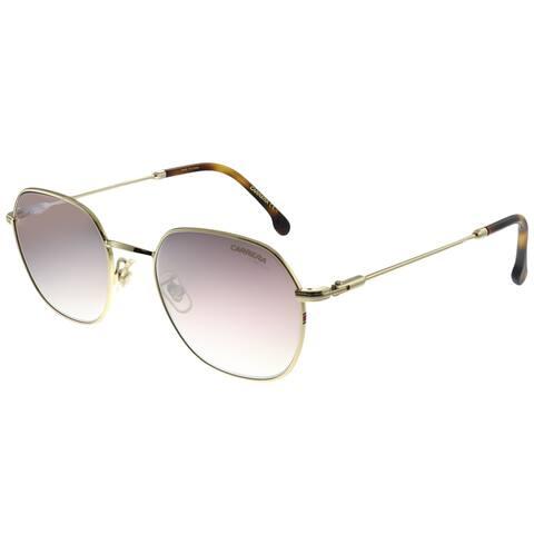 Carrera CA Carrera180/F/S 06J Unisex Gold Havana Frame Brown Mirror Lens Sunglasses