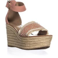 Tommy Hilfiger Terrin Ankle Strap Wedge Sandals, Light Pink - 11 us
