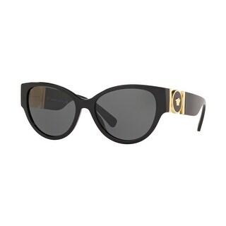 Link to Versase VE4368 GB1/87 56 Black Woman Cat Eye Sunglasses Similar Items in Women's Sunglasses