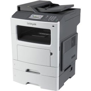 Lexmark Mx511dte Monochrome All-In One Laser Printer With 550 Sheet Tray, Scan, Copy, Network Ready, Duplex Printing And