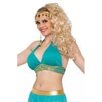 Forum Novelties Belly Dancer Harem Top Adult Costume (Green) - Green - Standard
