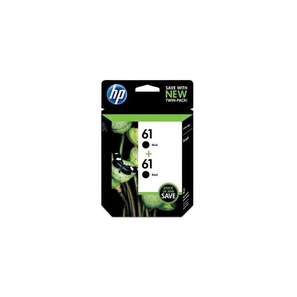 HP 61 Black Original Ink Cartridges-2 Cartridges (CZ073FN)(Single Pack)
