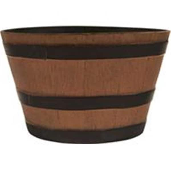 Shop Southern Patio 077030 15 5 In Whiskey Barrel Planter Natural