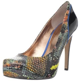BCBGeneration Womens paeyton Closed Toe Platform Pumps MultiColor Size 8.0