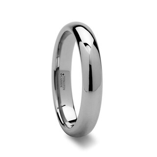THORSTEN - DOMINA Domed Tungsten Carbide Wedding Ring - 4mm