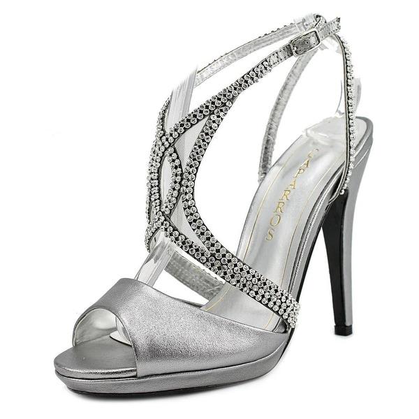 Caparros ElDorado Women Pewter Silver Sandals