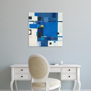 Easy Art Prints Deborah T. Colter's 'Blueberry Hill I' Premium Canvas Art
